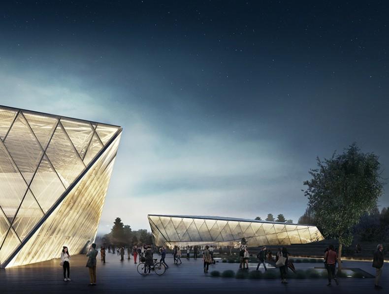 Bakpak Architects obtiene el 2º Premio en para el diseño del parque deportivo de Sosnowiec.