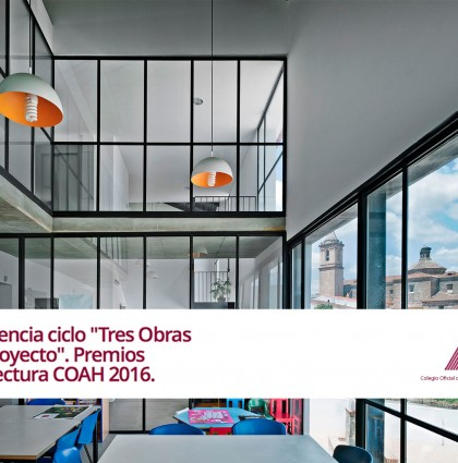 """Bakpak Architects in """"Three works and one project""""."""