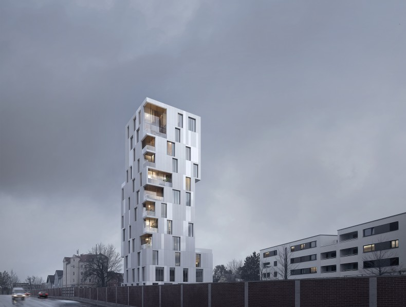 Edificio QUATERTOWER en Augsburg