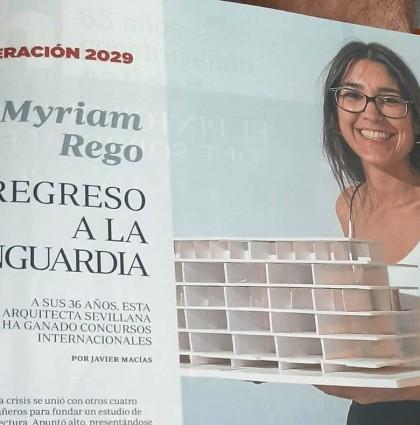 ABC publica una entrevista a Myriam Rego