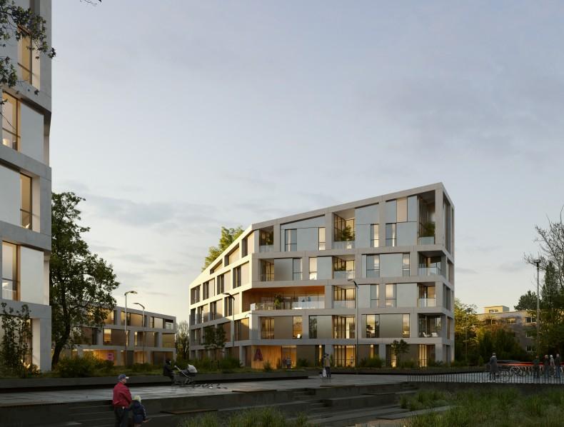 Bakpak Architects gana el 1º Premio en el Concurso Internacional para la ordenación arquitectónica y urbanística de un área residencial en la ciudad de Karlsruhe (Alemania)