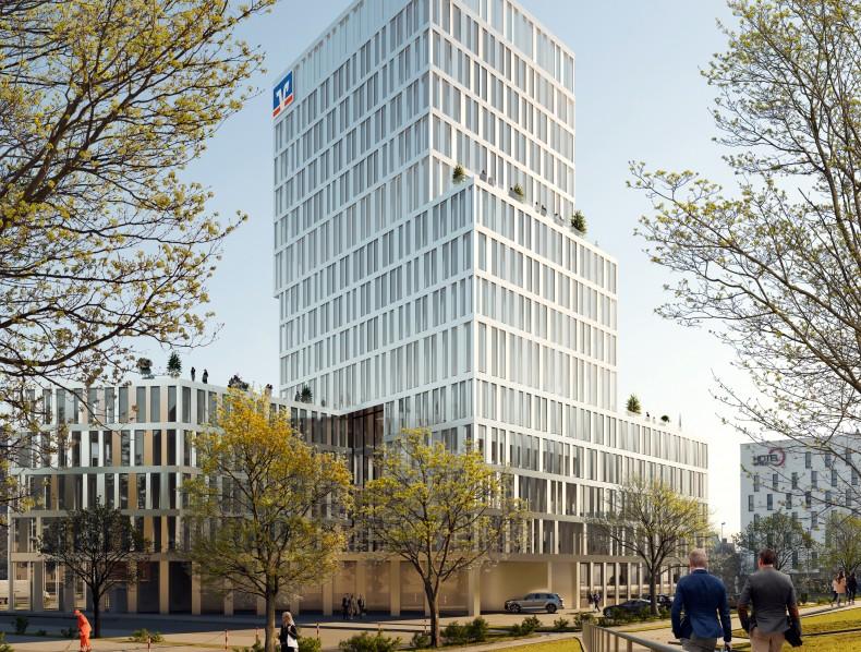 Bakpak gana el segundo premio en el concurso internacional para el diseño de la torre Ingolstadt en Alemania