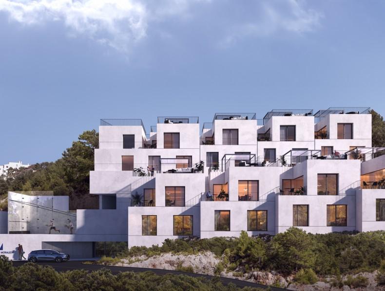 Proyecto de 8 viviendas en Benahavís (Málaga)