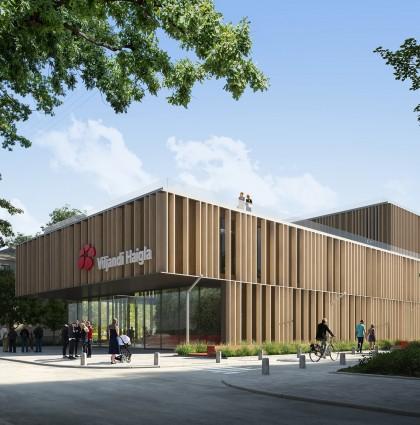 Se firma el contrato de construcción para el nuevo Hospital y centro de salud de Viljandi